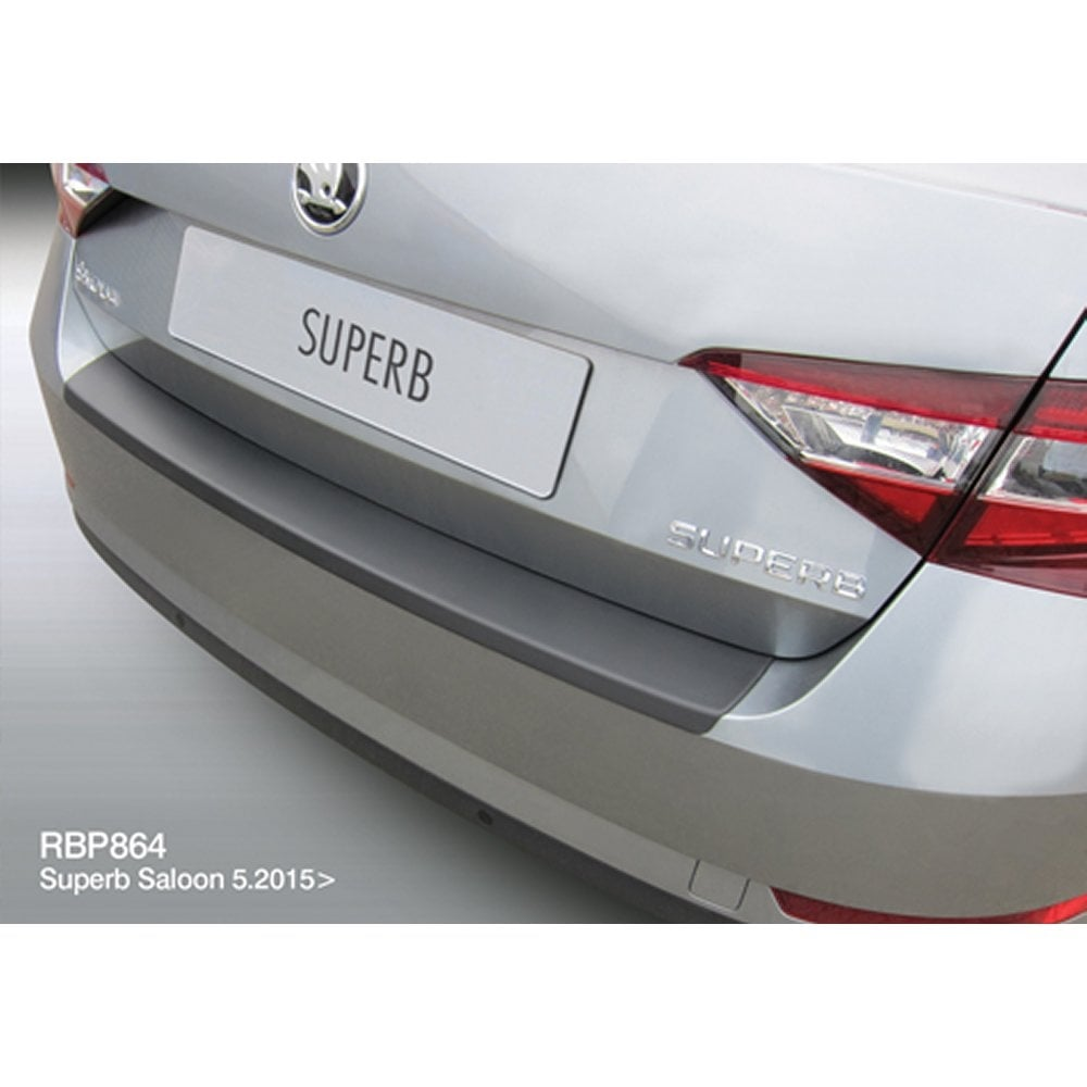 Skoda Superb Saloon Rear Bumper Protector From Direct Car Parts Fuse Box For 4 Dr June 2015 Onwards