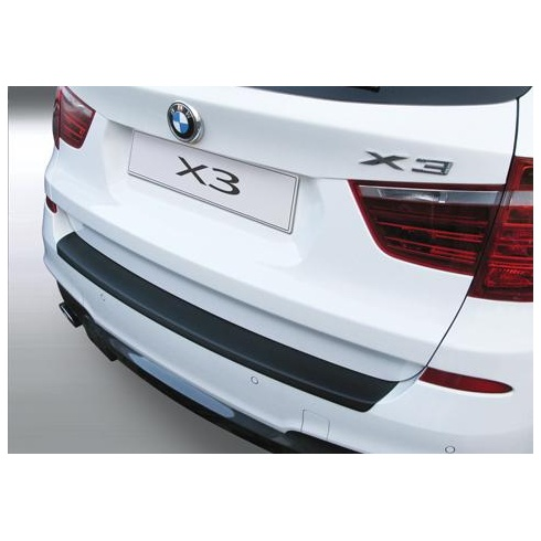 rear guard bumper protector BMW X3 F25 Sport 11.2010 to 3.2014