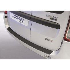 rear guard bumper protector Dacia Logan MCV 11.2008 to 2013 Black