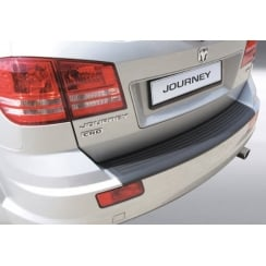 rear guard bumper protector Dodge Journey 9.2011> Ribbed