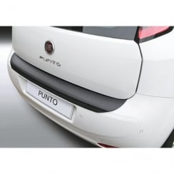 rear guard bumper protector Fiat Punto Jan 2012>