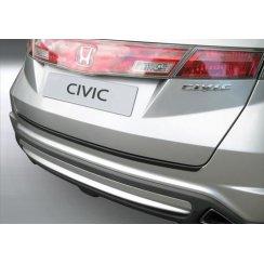 rear guard bumper protector Honda Civic 1.2006 to 12.2011