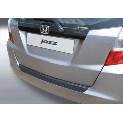 rear guard bumper protector Honda Jazz 11.2008 > 3.2011