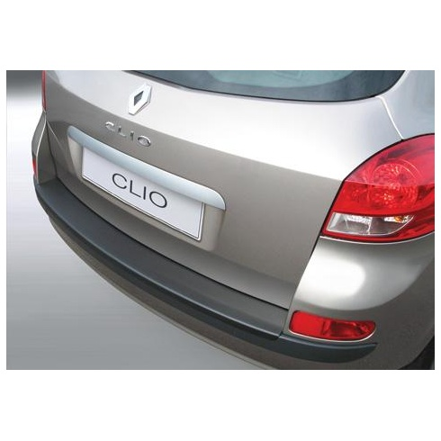 rear guard bumper protector Renault Clio Sport Tourer 2009 to 2013