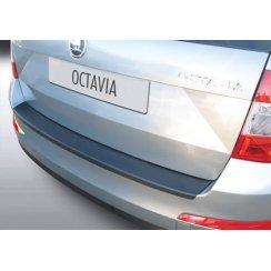 rear guard bumper protector Skoda Octavia III Est 2013 >