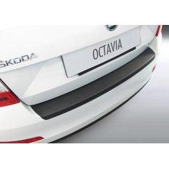 rear guard bumper protector Skoda Octavia IV 5 door Feb 2013 to April 2017