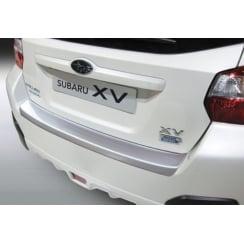 rear guard bumper protector Subaru XV 3.2012> BLACK
