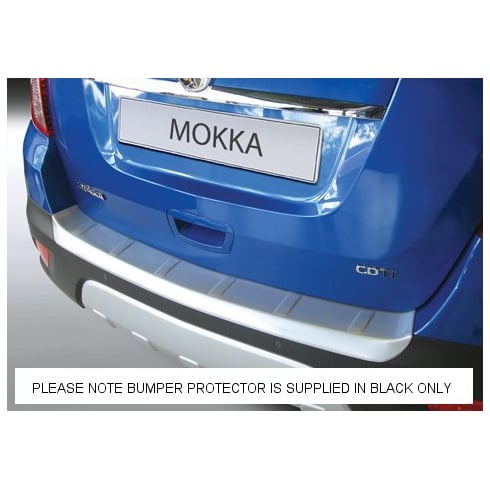 rear guard bumper protector Vauxhall Mokka from Nov 2012 to June 2016 (BLACK ONLY)