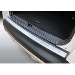 Renault Captur ribbed rear bumper protector from June 2013>