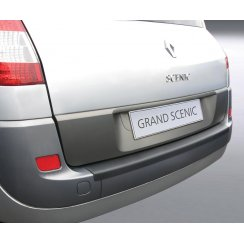Renault Grand Scenic rear guard bumper protector 2004 to 2009