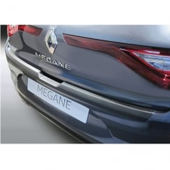 Renault Megane 5 door rear bumper protector from March 2016>
