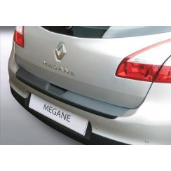 Renault Megane rear guard bumper protector 5 door hatchback 11/08>