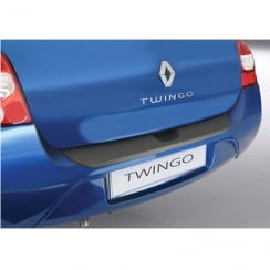 Renault Twingo rear guard bumper protector 3 door 09/2007 >