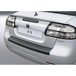 Saab 9-3 rear guard bumper protector 2 door Cabrio 10/07 >