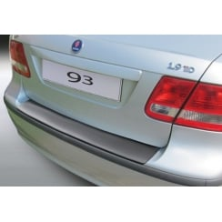 Saab 9-3 rear guard bumper protector 4 door 2002 to Sept 2007