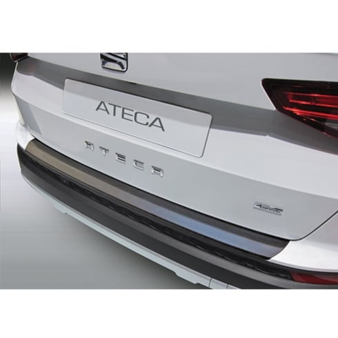 seat ateca rear bumper protector 2016 from direct car parts. Black Bedroom Furniture Sets. Home Design Ideas