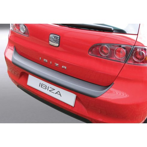 RGM Seat Ibiza rear guard bumper protector 3/5 door 06 to May 2008