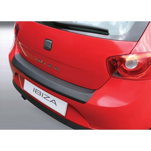 Seat Ibiza rear guard bumper protector 3 door model Jun 2008 to Feb 2012