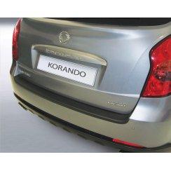 Ssangyong Korando rear guard bumper protector 01/2011 >