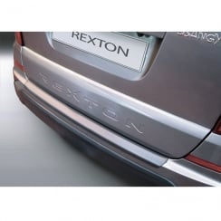 Ssangyong Rexton W rear bumper protector from April 2013>