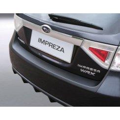Subaru Impreza rear guard bumper protector 5 door 10/07 >