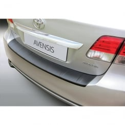 Toyota Avensis 4 door ribbed rear bumper protector from Jan 2012>May 2015