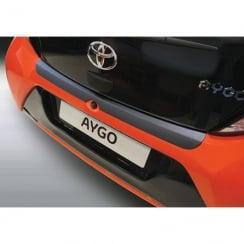 Toyota Aygo 3-5 door rear bumper protector July 2014>