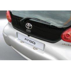 Toyota Aygo rear guard bumper protector 3/5 door 2005 to 2014