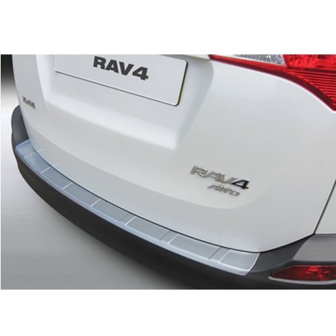 Toyota Rav 4-5 door ribbed rear bumper protector Mar 2013> Jan 2016