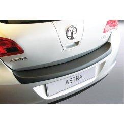 Vauxhall Astra J rear guard bumper protector 5 door Dec 2009 to Sep 2012