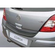 Vauxhall Corsa D rear guard bumper protector 5 door June 06 to Sep 2014