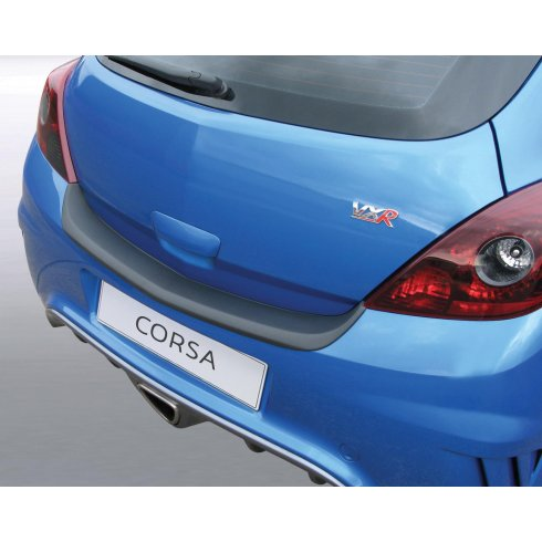 RGM Vauxhall Corsa D VXR bumper protector 3 door Mar 2007 to Sep 2014