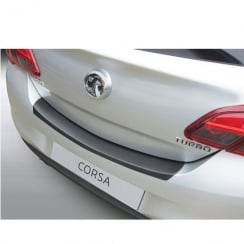 Vauxhall Corsa E 3/5 door 2015 onwards rear guard bumper protector