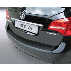 Vauxhall Meriva B rear guard bumper protector June 2010 >