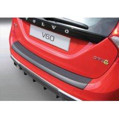 Volvo V60 Estate rear guard bumper protector Volvo V60 Estate 11.2010>