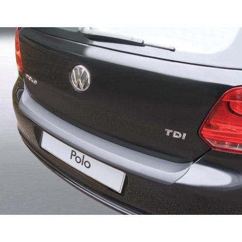 VW Polo rear guard bumper protector 3 and 5 door models from June 2009 to June 2014