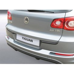 VW Tiguan rear guard bumper protector 11/2007 > 03.2016
