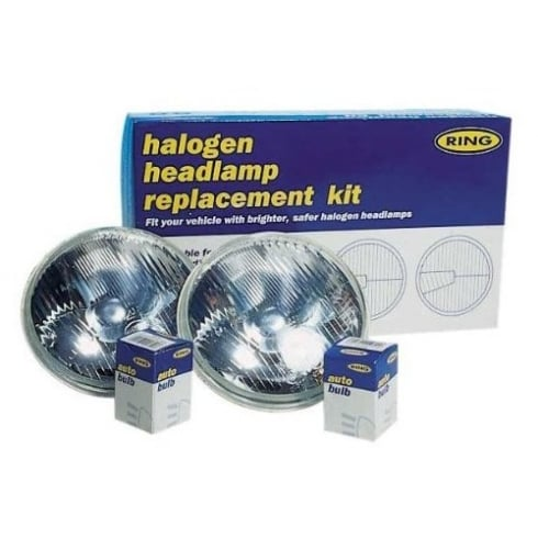 12 volt halogen headlamp conversion kit to replace 7 inch sealed beam units