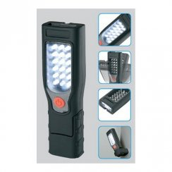 Cordless and rechargeable LED inspection lamp / torch