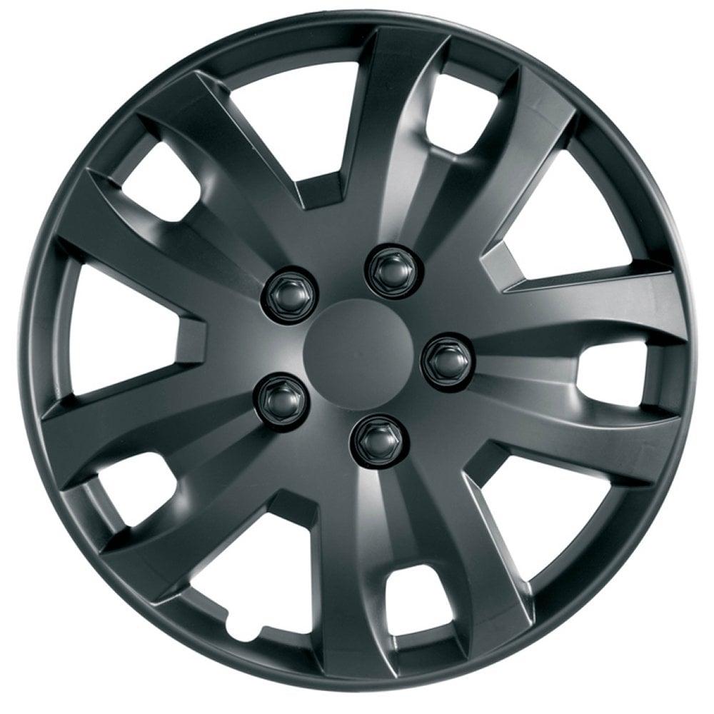 Rwt1374 13 Inch Jet Matt Black Wheel Trims