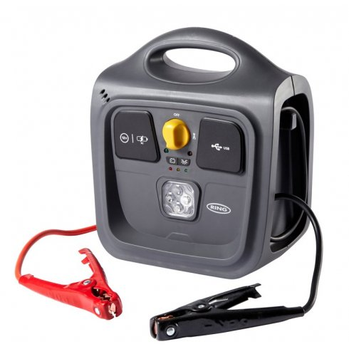 Ring RPP148 compact portable jump start powerpack 12v 500A peak