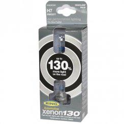 Ring Xenon 130% extra light performance bulbs H7