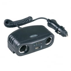 Twin 12v Multisocket with USB`