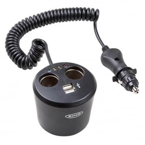 Twin 12v & Twin USB Can Multisocket