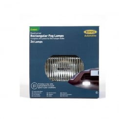 Roadrunner Rectangular Fog Twin Set (55w bulbs)