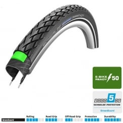 Schwalbe Marathon 26 x 1.75 performance line bike tyre e-bike ready