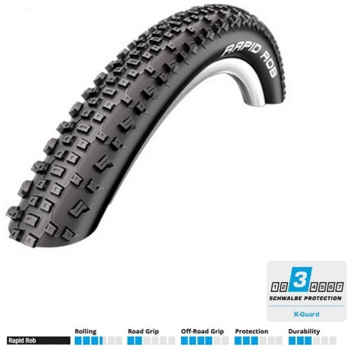 Schwalbe Rapid Rob 29 x 2.10 mountain bike tyre