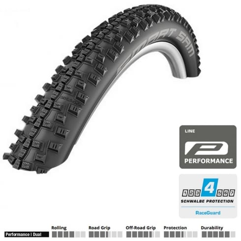 Smart Sam 700 x 40c cycle tyre
