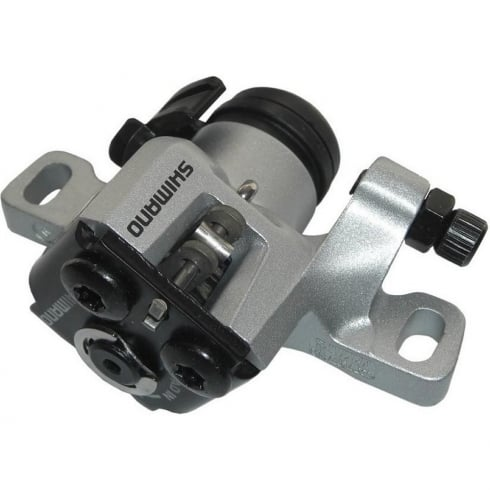 Shimano Front/Rear mechanical disc brake caliper and pads - Silver