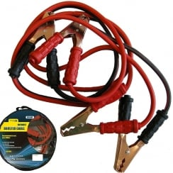 Simply motorist booster cables (jump leads) 600 amp for cars up to 3500cc